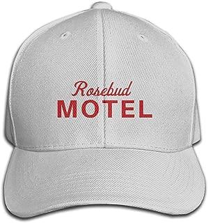 Rosebud Motel Woman's Men's Unisex Cute Baseball Hat Adjustable Fashion Hat Cap Sun Protetion Windproof Gray