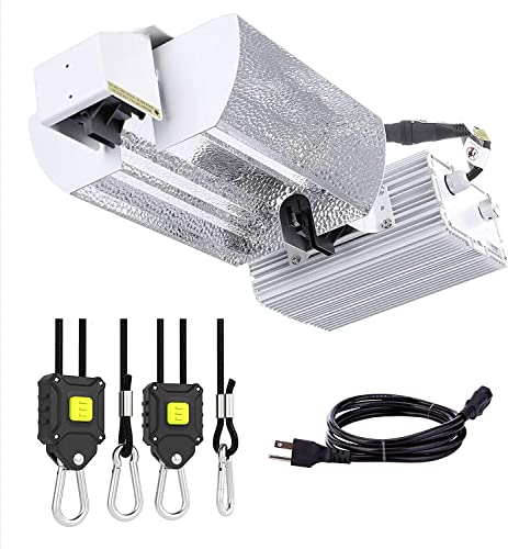 """new arrival VIVOSUN """"Butterfly"""" Double Ended Grow Light Fixture for DE HPS MH Bulb, High-Reflectivity lowest Vega discount Aluminum Hood, 120/240V Dimmable Ballast, Full-Spectrum Suspension System, No Bulb Included outlet online sale"""