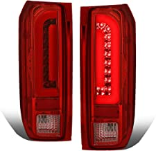 Pair Red Housing 3D LED Bar Tail Brake Light Lamps for Ford F150/F250/F350/Bronco/F Super Duty Styleside 90-97