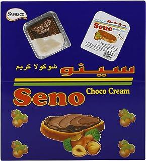 Swasco Seno Choco Cream, 14 gm (Pack of 72)