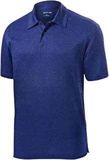 Men's Lightweight Breathable Polo T Shirt