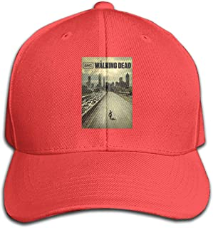 KAMEOR Custom Adult The Walking Dead Poster Baseball Hats Fashion Cap
