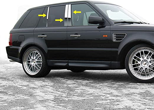 Fits Range Rover Sport 2006-2013 Sport Chrome Trunk Grab Handle Trim Stainless