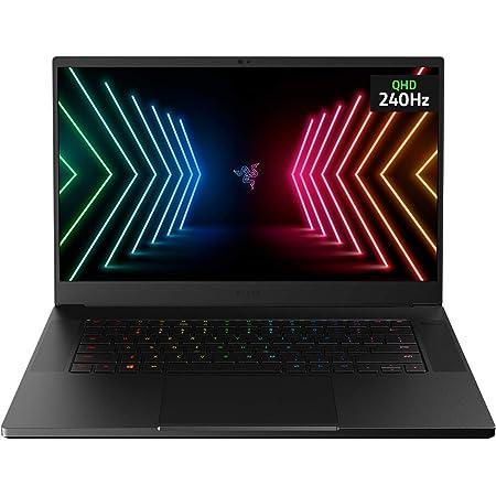 "Razer Blade 15 Advanced Gaming Laptop 2021: Intel Core i7-10875H 8-Core, NVIDIA GeForce RTX 3070, 15.6"" QHD 240Hz, 16GB RAM, 1TB SSD - CNC Aluminum - Chroma RGB - THX Spatial Audio - Thunderbolt 3"