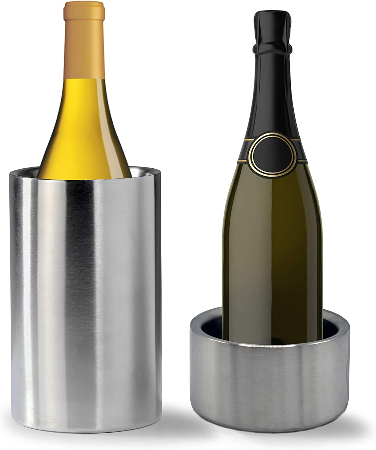 Tiger Chef Wine Bottle Chiller Double Cooler Set: Wall Super beauty product restock outlet quality top Stainless