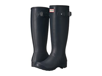 Hunter Original Tour Packable Boot (Navy Matte) Women