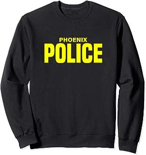 City of Phoenix Police Officer Arizona Policeman Uniform Sweatshirt