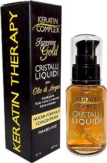 Keratin Complex Cristalli Liquidi all'Olio di Argan - 50 ml