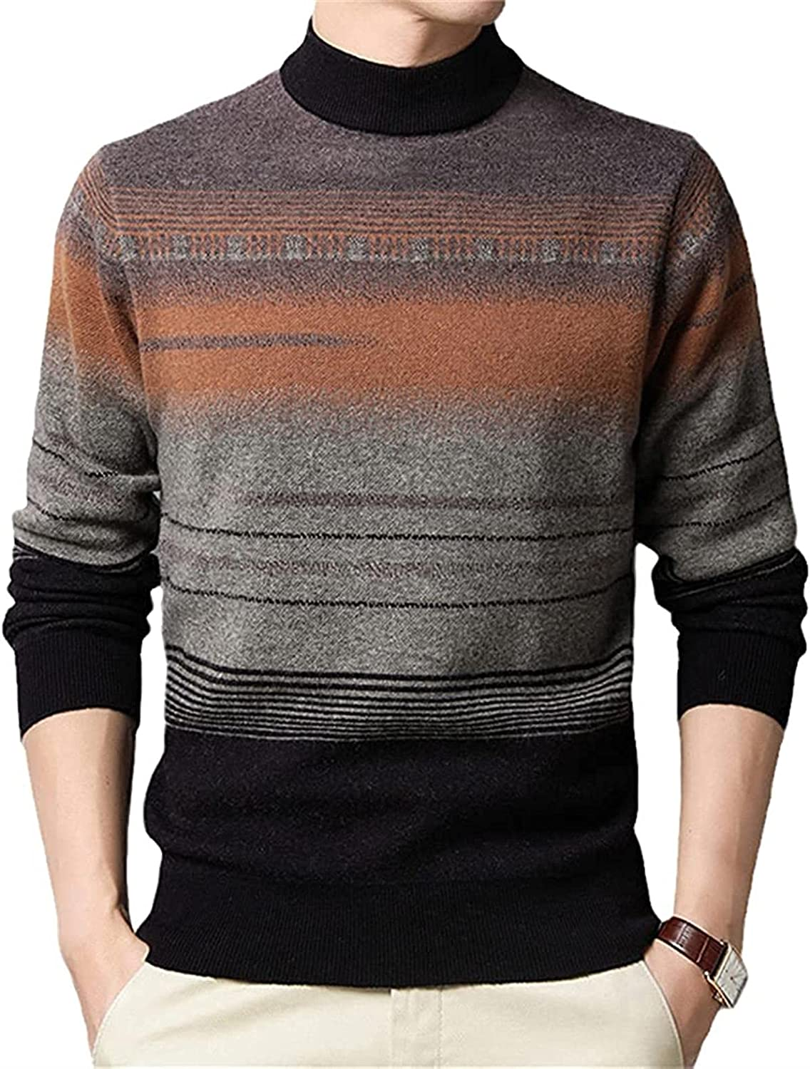 JOAOL Winter Warm Sweaters Men Clothing Streetwear Wool Sweater Pullover Colthes