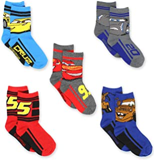 Disney Cars Boys Toddler Multi Pack Socks Set