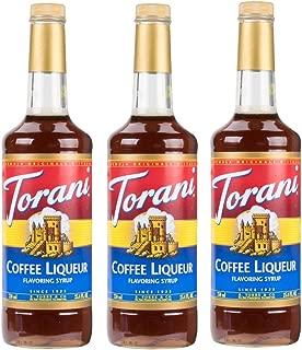 Torani Coffee Liqueur Syrup (25.4oz) 3 Pack