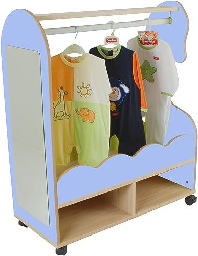 la mejor selección de Mobeduc Mobeduc Mobeduc Mueble para Disfraces Caballito, Haya, Haya y azul Lavanda, 90x40x109 cm  punto de venta