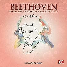 Beethoven: Sonata for Piano No. 1 in F Minor, Op. 2, No. 1 (Digitally Remastered)