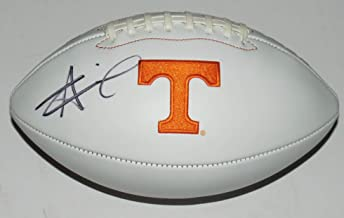 Alvin Kamara Signed Full Size Football - Beckett Authentication Services COA Authenticated - Includes Ultra Pro Display Case