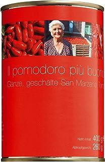 Sarno San Marzano Tomaten Vorteilspack 6 Dosen, ATG 6x260gr