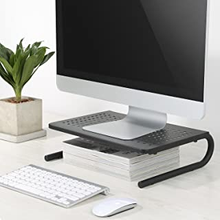 Rife Monitor Computer Laptop Stand Raiser/Shelf/Table Organizer for Desk for Home and Official use