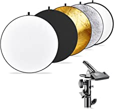 Neewer Photography 5-in-1 Multi-Disc Light Reflector (43 inches/110 centimeters) with..