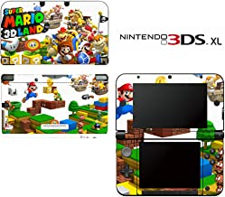 Super Mario 3D Land Decorative Video Game Decal Skin Sticker Cover for Nintendo 3DS XL