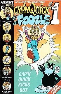 Cap'n Quick & a Foozle #1 FN ; Eclipse comic book