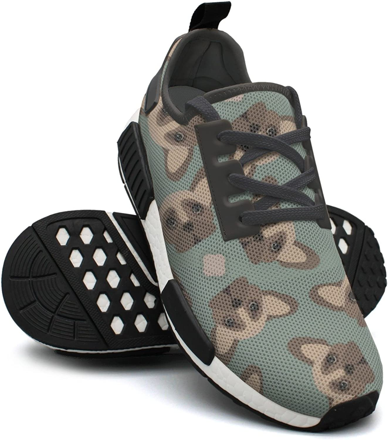 French Bulldog Womans Running shoes Nmd Gym Training shoes