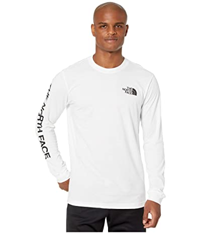 The North Face Long Sleeve Brand Proud Cotton Tee (TNF White) Men