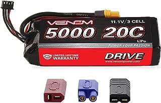 Venom 20C 3S 5000mAh 11.1V LiPo Battery with Universal Plug 2.0 (Traxxas / Deans / EC3)