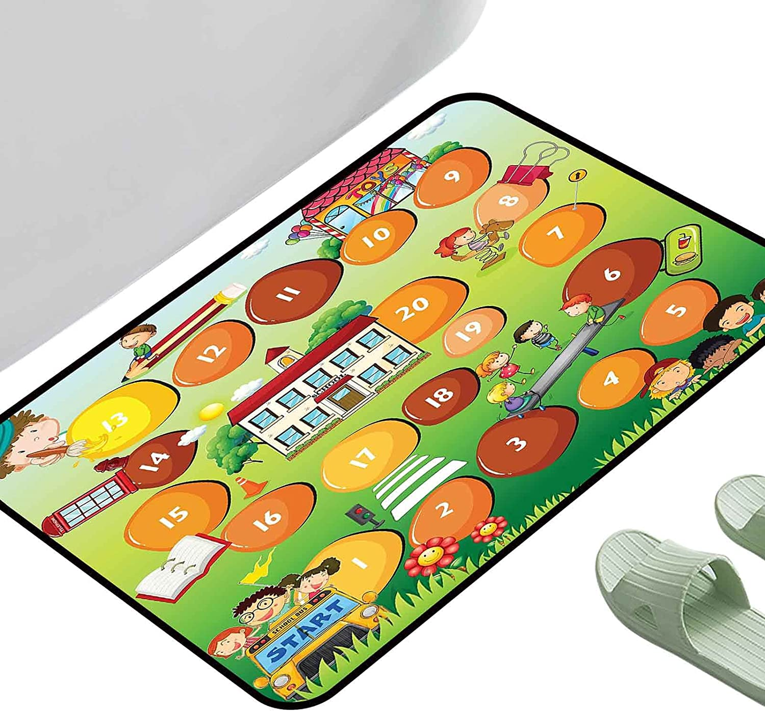 Kids half Bedroom Mats Decorative Activity on ing Tim Complete Free Shipping School The