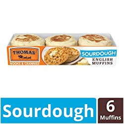 Thomas', Sourdough English Muffins, 6 ct, 12 oz
