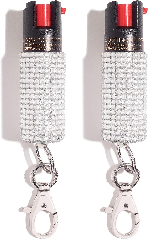 BlingSting Pepper Spray Mesa Mall Women Keychain Many popular brands for