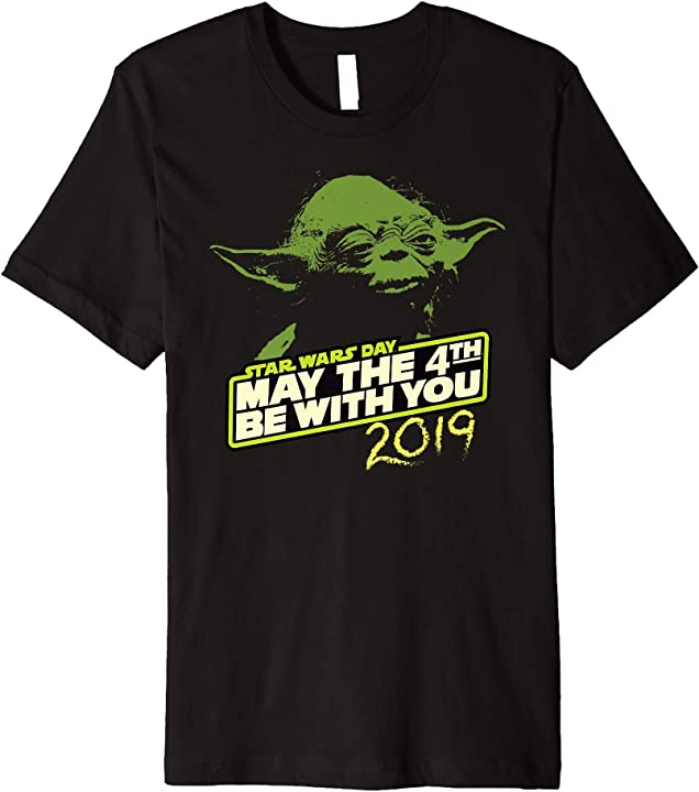 May The 4th Be With You 2019 Modesto: Star Wars Day Yoda May The 4th Be With You 2019 Premium T