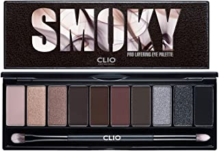 CLIO Pro Layering Eye Palette 0.04 Ounce 04 Smoky Top