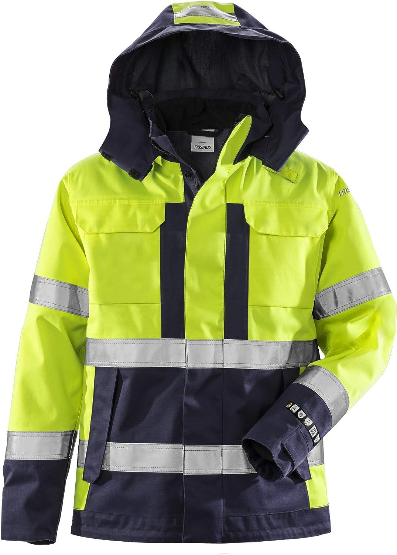 Fristads Workwear 129869 Mens Class 3 High Vis Flame Jacket