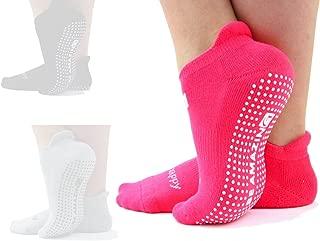 Best pink grip socks Reviews