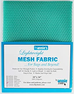 By Annie Mesh Fabric Lightweight 18x54 Turquoise