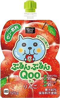 コカ・コーラ ミニッツメイド ぷるんぷるんQoo クー りんご ゼリー飲料 パウチ 125g×6本