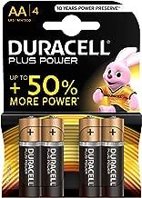 Duracell Plus AA Batterie Stilo Alcaline, Confezione da 4 Pacco del Produttore, 1.5 V LR06 MX1500 (il Design della Confezione Potrebbe Variare)