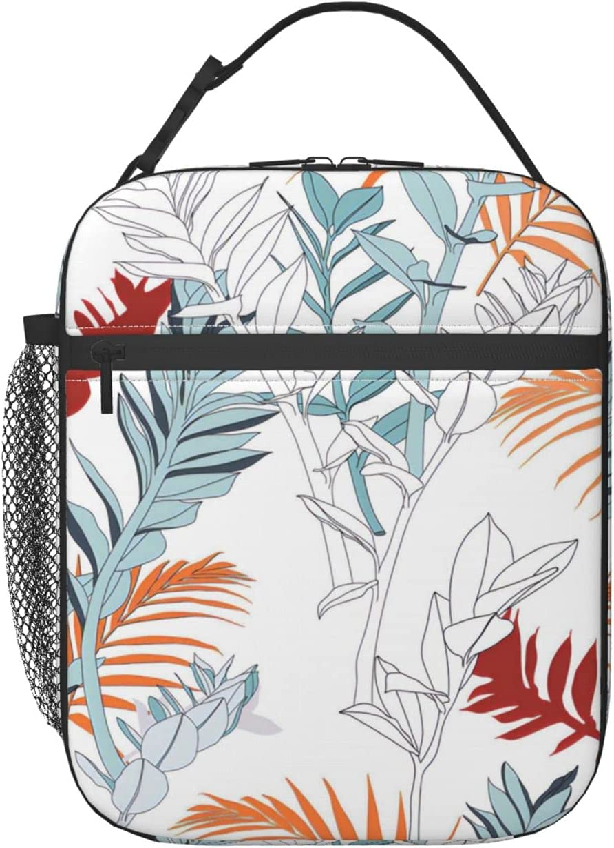 Creative universal floral background in Free shipping Ins tropical Box - Sales for sale Lunch