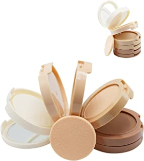Vodisa 5 Colour Makeup Contour Kit-Beauty Cosmetics Highlighter Make Up Base Press Powder Foundation-Sleek Contouring and Highlighting Palette-Brown Shading of Nose Cheek-Professional Full Concealer