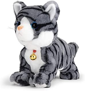 Sponsored Ad - Smalody Interactive Electronic Plush Toy - Animated Sound Control Electronic Pet Robot Cat Kitten Toys Gift...