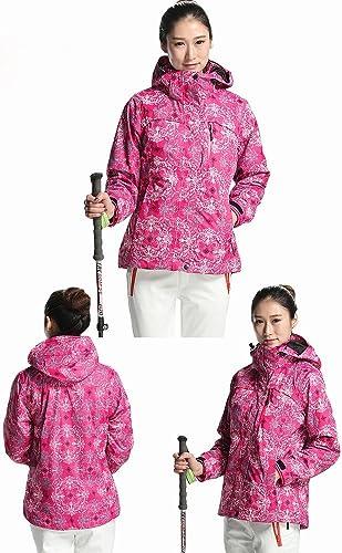 Manteau d'assaut de Mode Femme Triple Combo Chaude Molleton Imperméable à l'eau Polaire Manteau d'assaut Femelle Marée,C,S