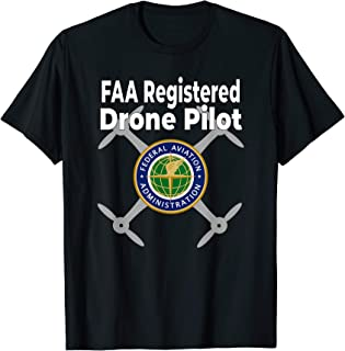 Do Not Disturb FAA Certified Drone Pilot T-Shirt T-Shirt