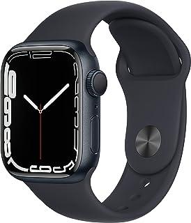 Apple Watch Series7 (GPS, 41mm) - Midnight Aluminium Case with Midnight Sport Band - Regular