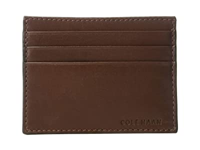 Cole Haan Smooth Leather Card Case (Cordovan) Credit card Wallet
