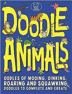 Doodle Animals by Emma Parrish - Paperback