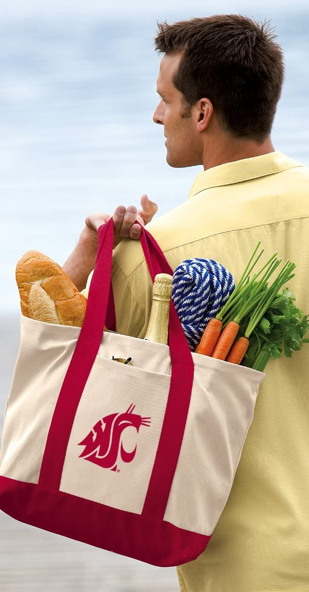 Washington Max 74% OFF Spring new work State Tote Bag Bags Canvas