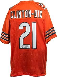 HaHa Clinton-Dix Signed Orange Pro-Style Custom Football Jersey JSA