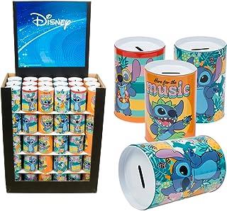 3 Pcs Disney Lilo & Stitch Saving Bank 3 Assortments Per Pack