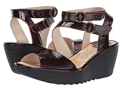 FLY LONDON YISK837FLY (Cordoba Red Luxor) Women