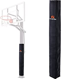 Goalrilla Square All-Weather, Durable Basketball Pole Pad Fits 5x5 and 6x6 Inch Goalrilla Poles