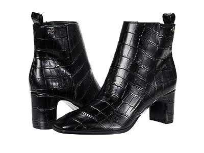 Calvin Klein Deni (Black Croco Embossed) Women